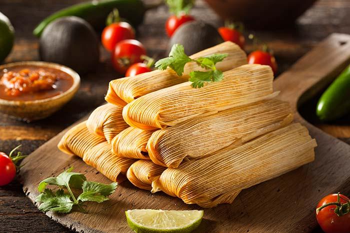 Tamale是一種很類似粽子的墨西哥傳統的食物